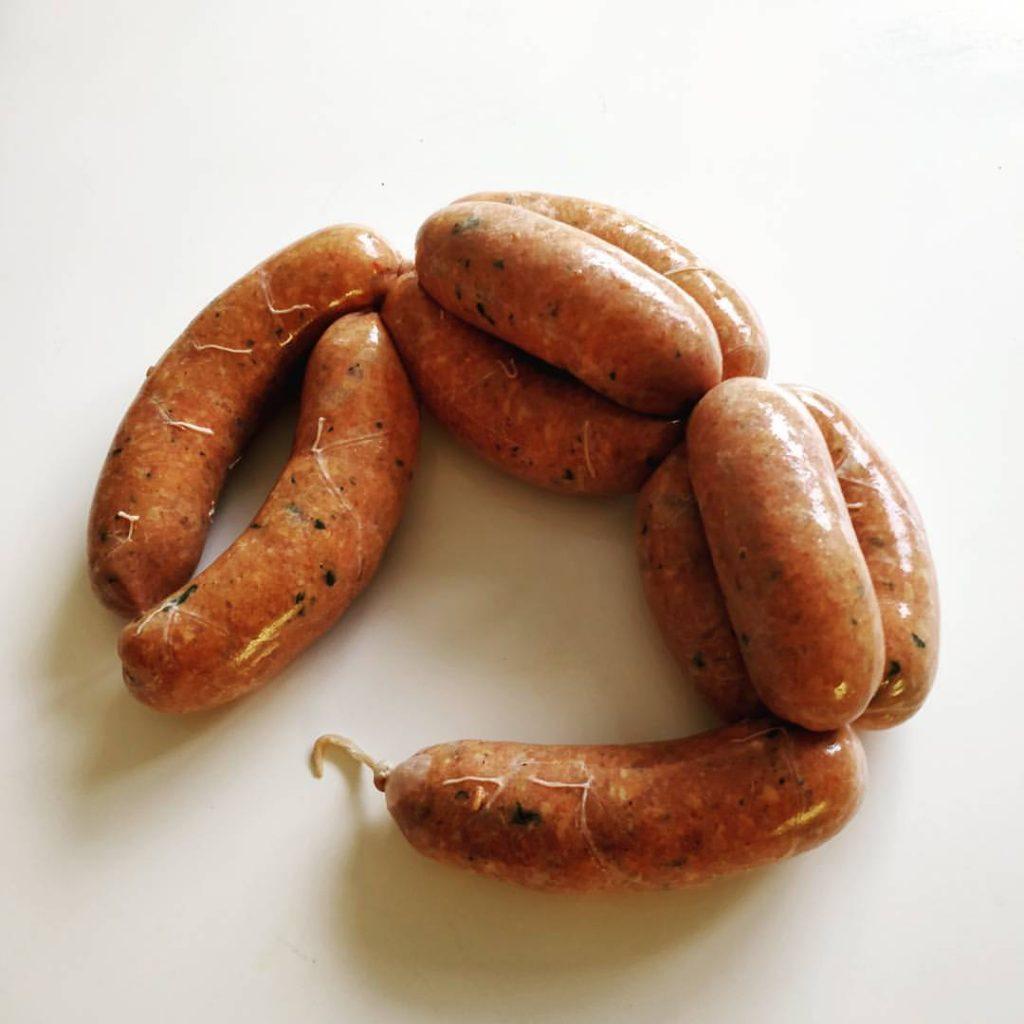 Korv spicy stark italiensk sausage göra själv