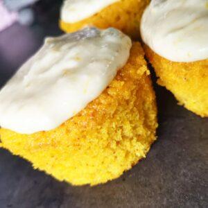Saffranscupcake Med Citronfrosting