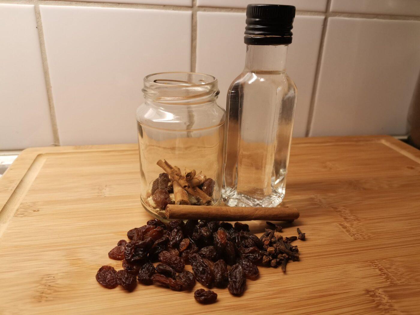 Glögg årets hemmagjord recept brännvin