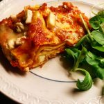 Vegetarisk Lasagne Ost