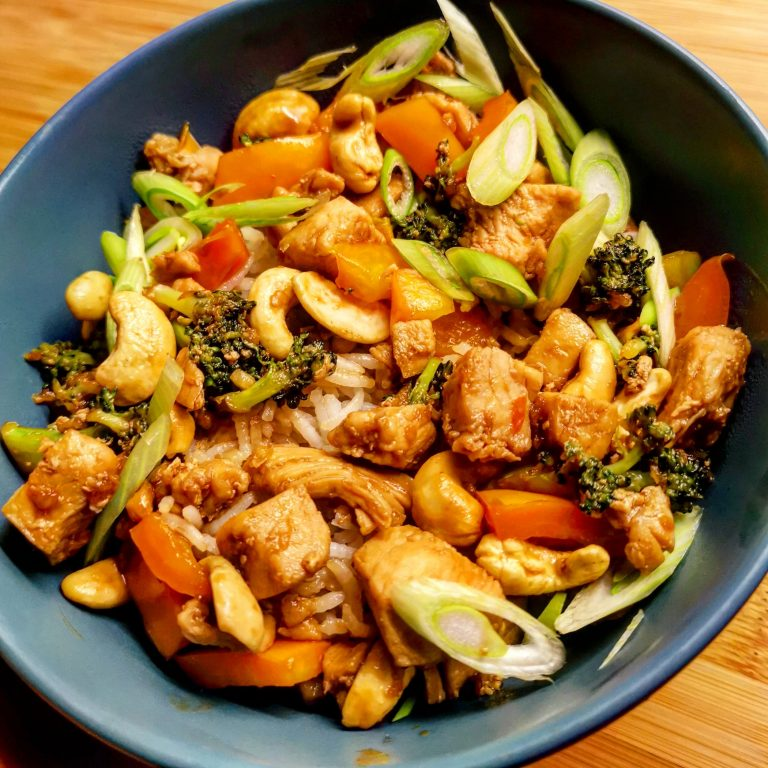 Snabb Cashew Chicken