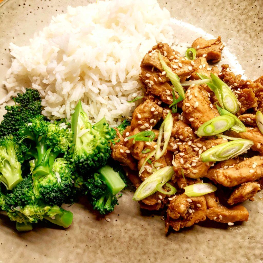 Kyckling Teriyaki chicken broccoli japan japanese
