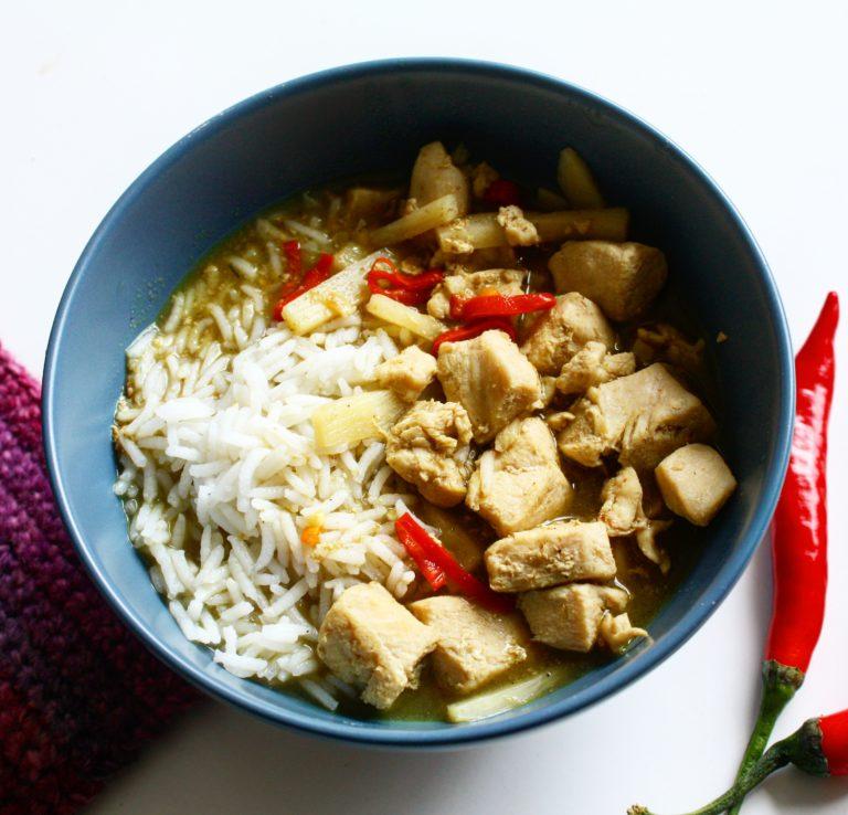 Grön Currygryta