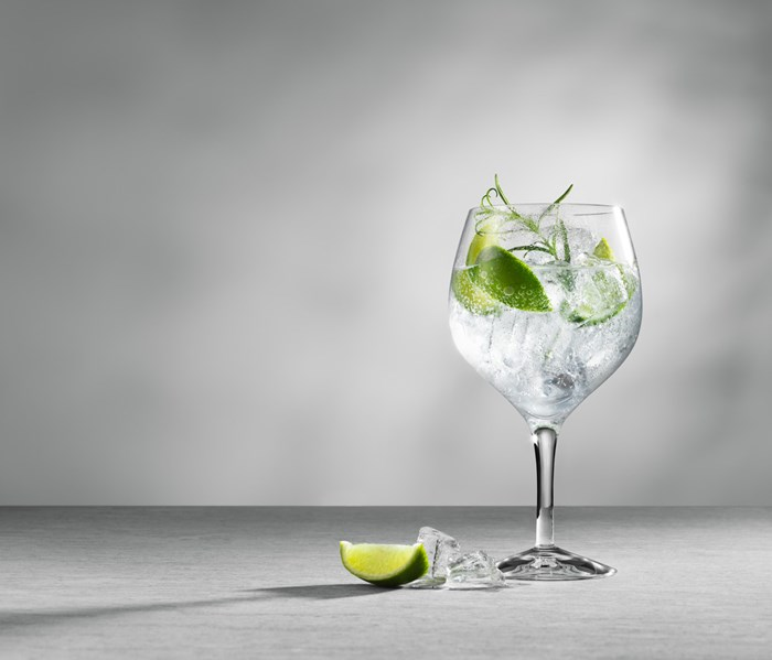 Gin & TOnic glas orrefors GT G&T