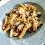 Fläskfilé pasta