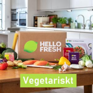 HelloFresh Vegetariskt